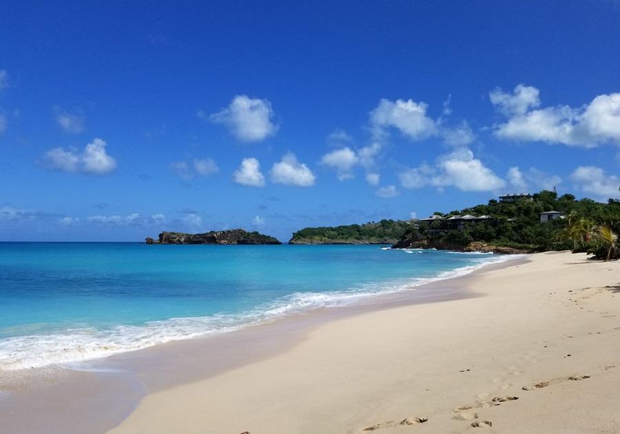 Beach at Galley Bay Resort in Antigua