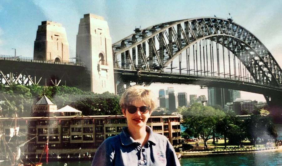 In Front of the Harbour Bridge
