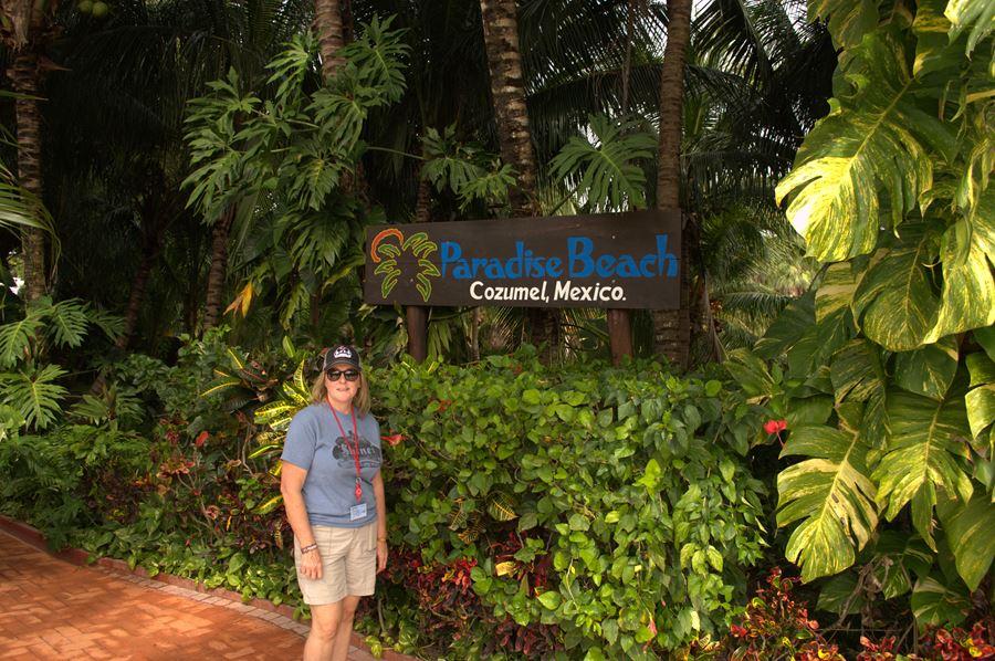Me at Paradise Beach