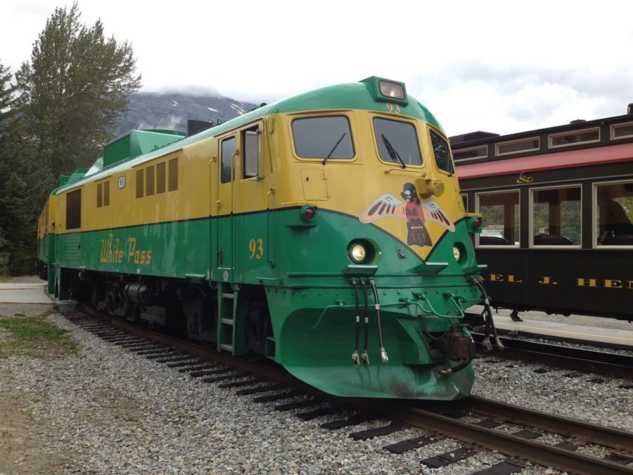 White Pass & Yukon Railroad, Skagway, Alaska