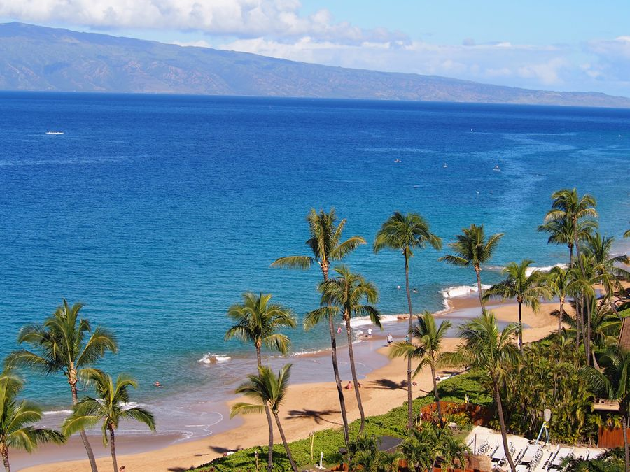 View from Royal Lahaina room #111126