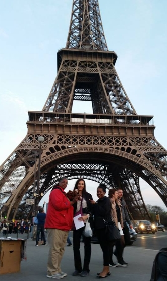 In front of Tour Eiffel