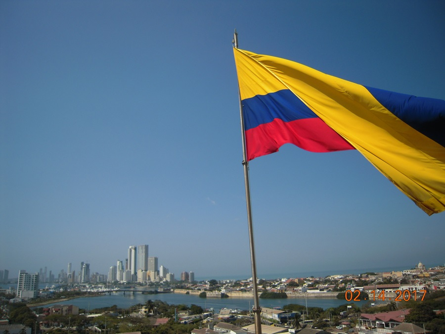 Cartagena from the Boca Chica Fort