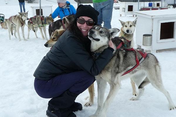 Dog Sledding in Seward, Alaska