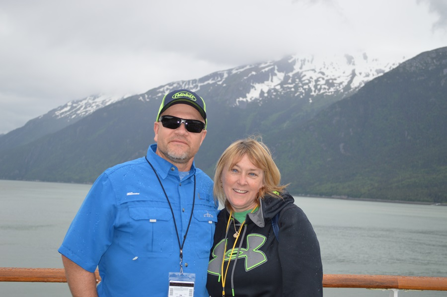 Alaska--Just me and my sweet hubby on sea day