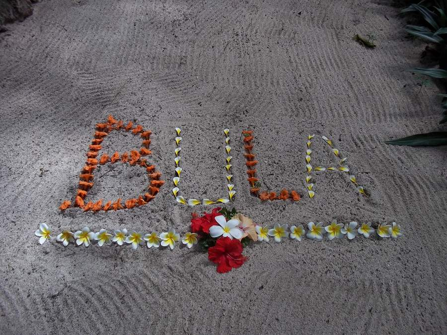 A warm welcome Fiji style
