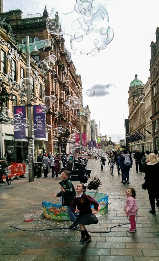 Glasgow has a wonderful culture!