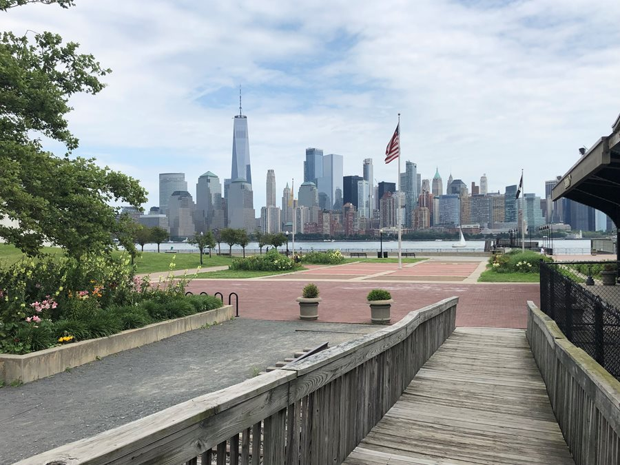 Manhattan from Liberty State Park, NJ