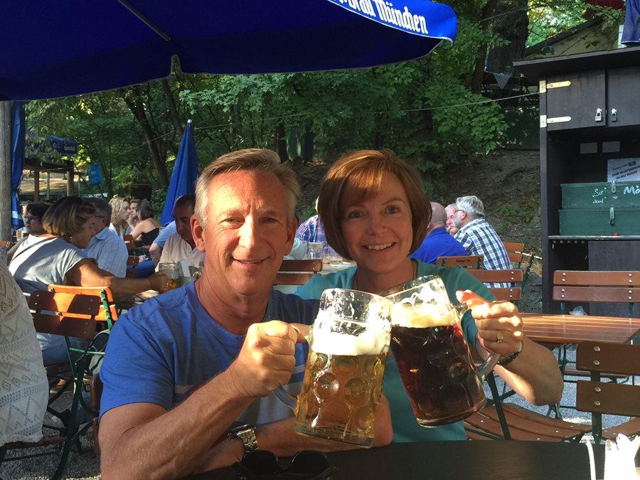 Prost!  Munich, Germany