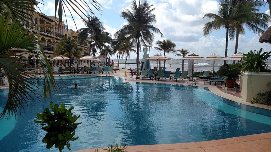 Poolside at Panama Jack
