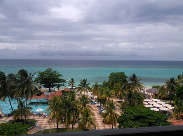 View from All-Inclusive Resort - Jamaica
