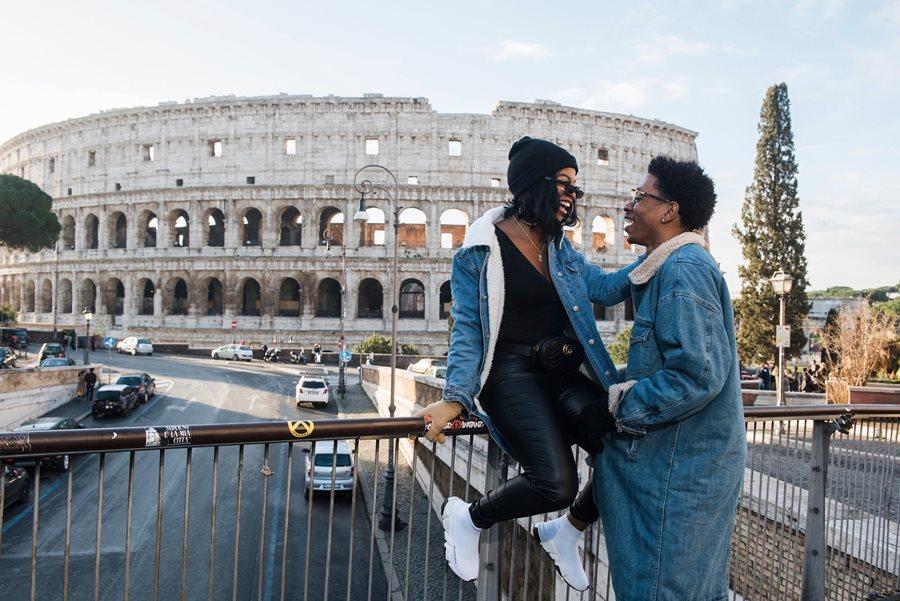Rome, Italy - YouTube: De'arra & Ken 4 Life