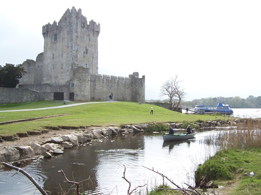Ross Castle near Killarney