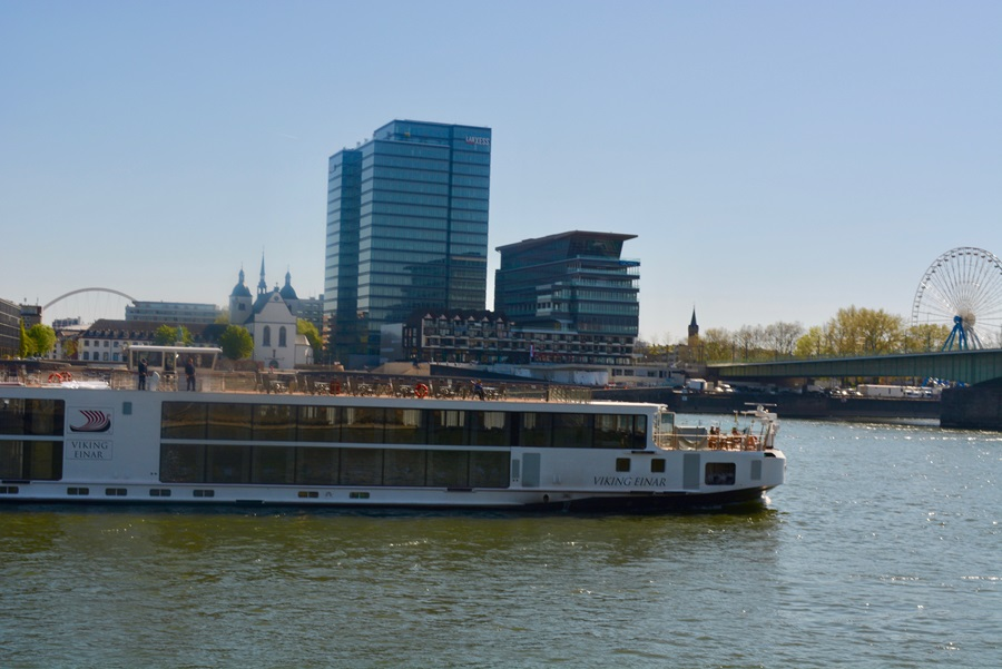 The Viking Einar in Cologne