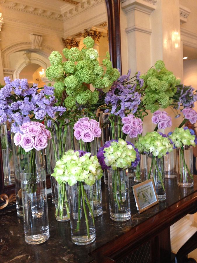 Lobby Flowers at the Four Seasons Dublin