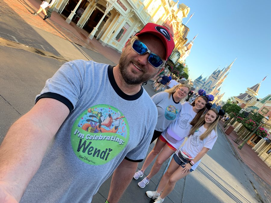 Early Morning in the Magic Kingdom
