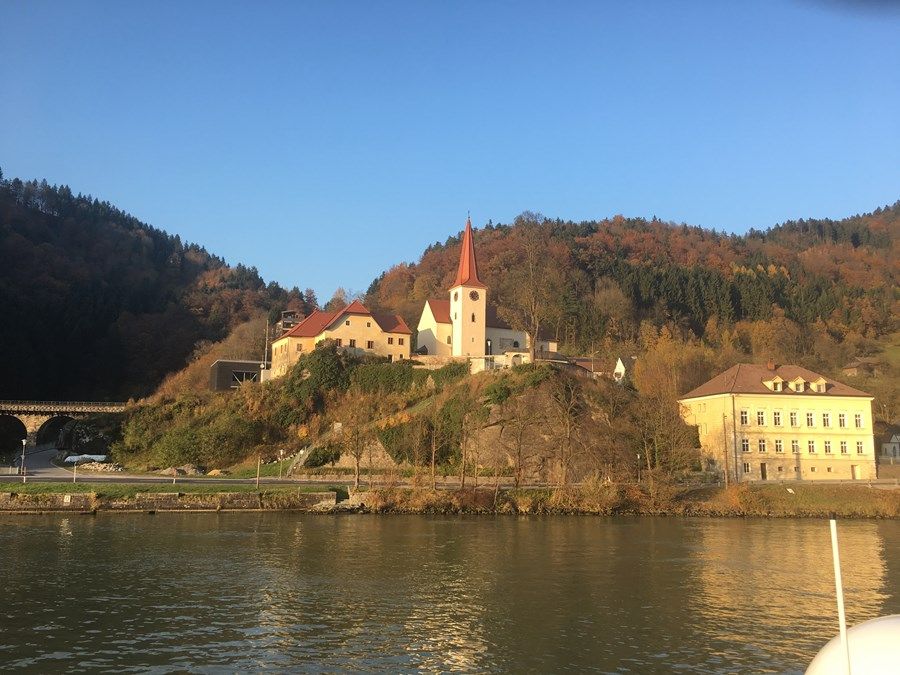 the views along the Danube are amazing!