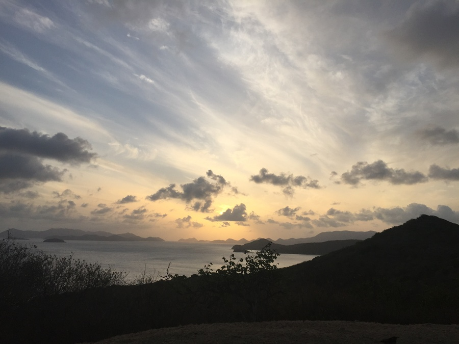 Spectacular Sunsets on Peter Island