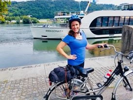 Danube River Cruising And A Pit Stop For Biking