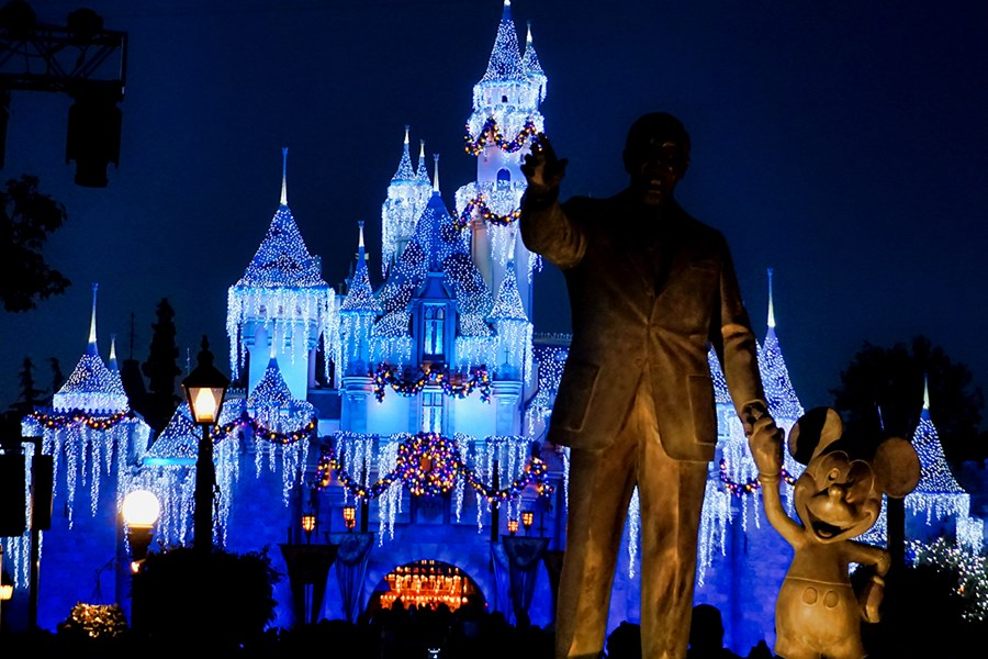 Partners statue of Walt and Mickey Mouse