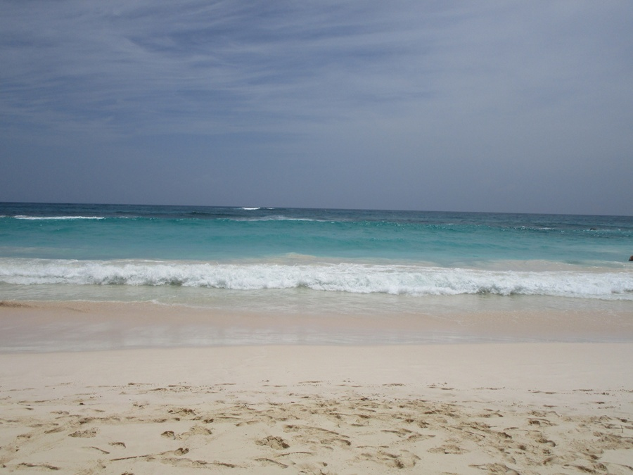 Unspoiled beach at Hard Rock Punta Cana