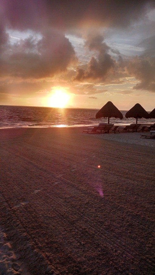Beautiful sunrise!!! -Finest Playa Mujeres