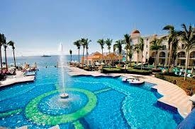 1 of infinity pools at Riu Palace - Cabo