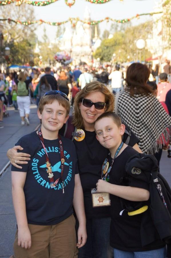 Family Time at Disneyland