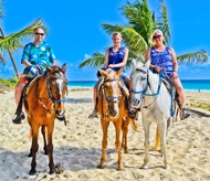 Horseback riding on Bavaro Beach