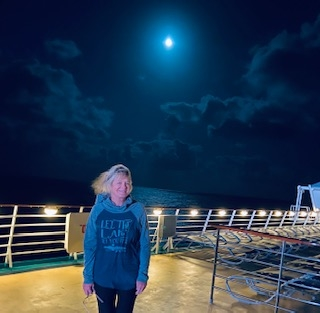 First night on the cruise