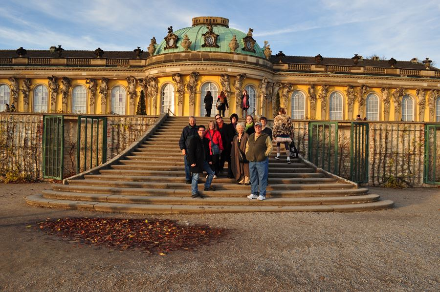 New Palace, Sanssouci Park, Pottsdam