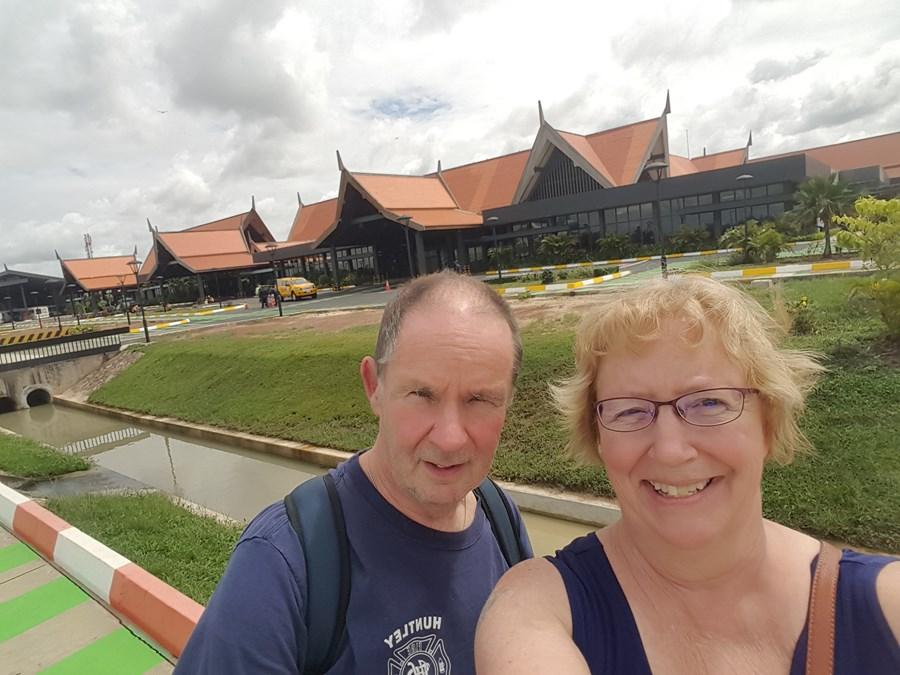 Siem Reap hotel grounds