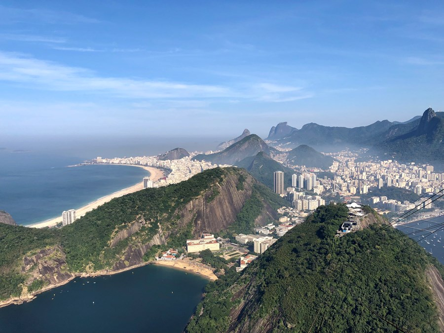 View from the top of the Corcovado!