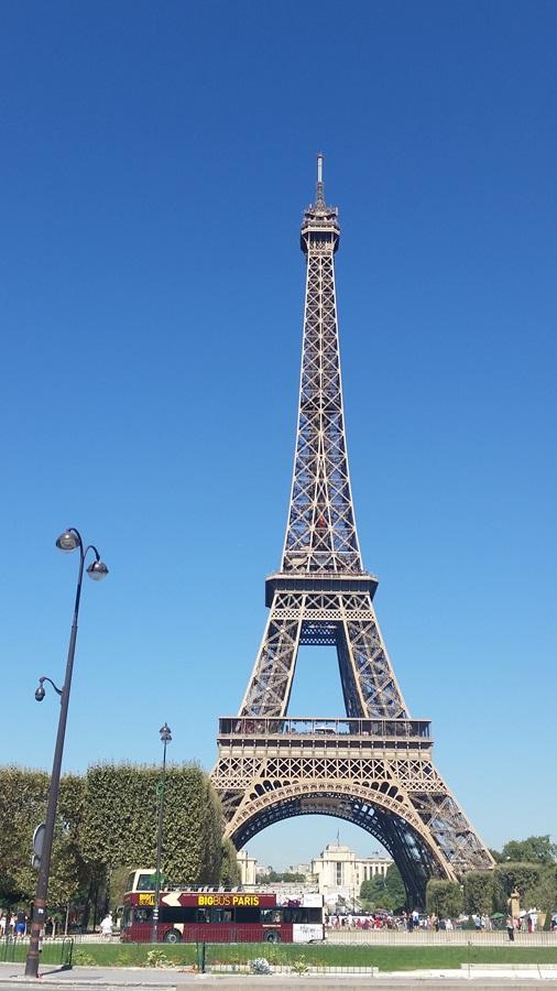 The iconic Eifel Tower