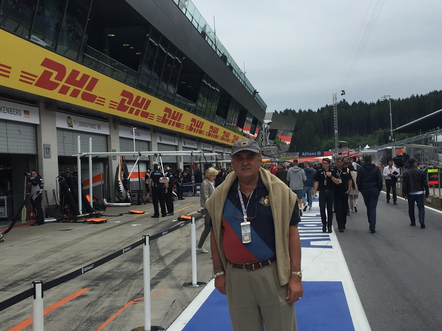 At Austrian F1 GP as guest of Emirates Airlines