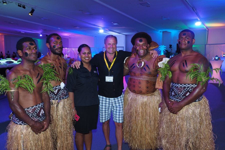 Fijian welcome and Kava ceremony