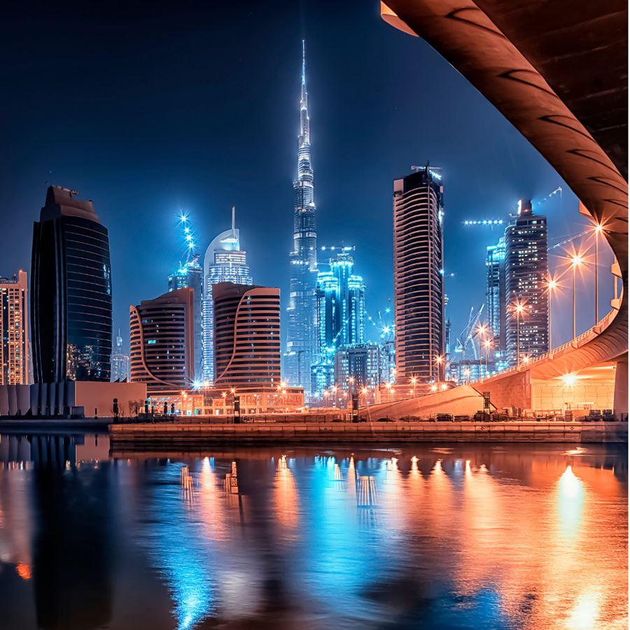 Burj Khalifa, Dubai's major tourist attraction