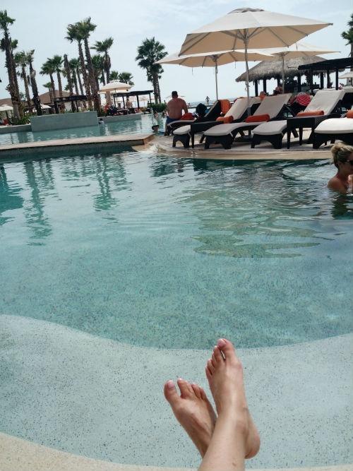 Chilling at Secrets Playa Mujeres
