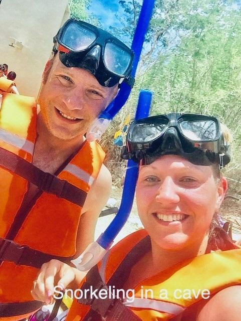 Snorkling in Mexico