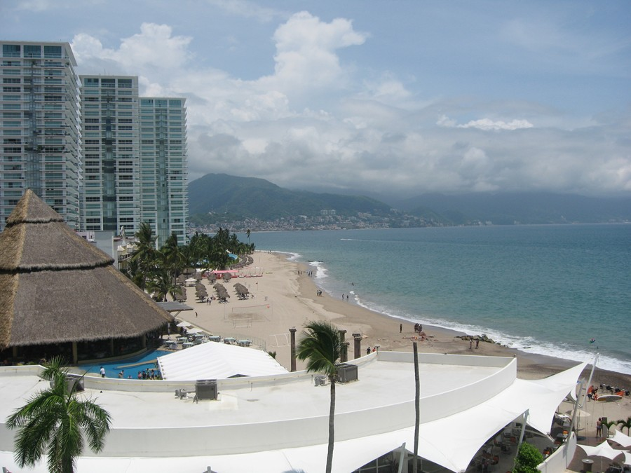 Nice view of the mountains of Puerto Vallarta