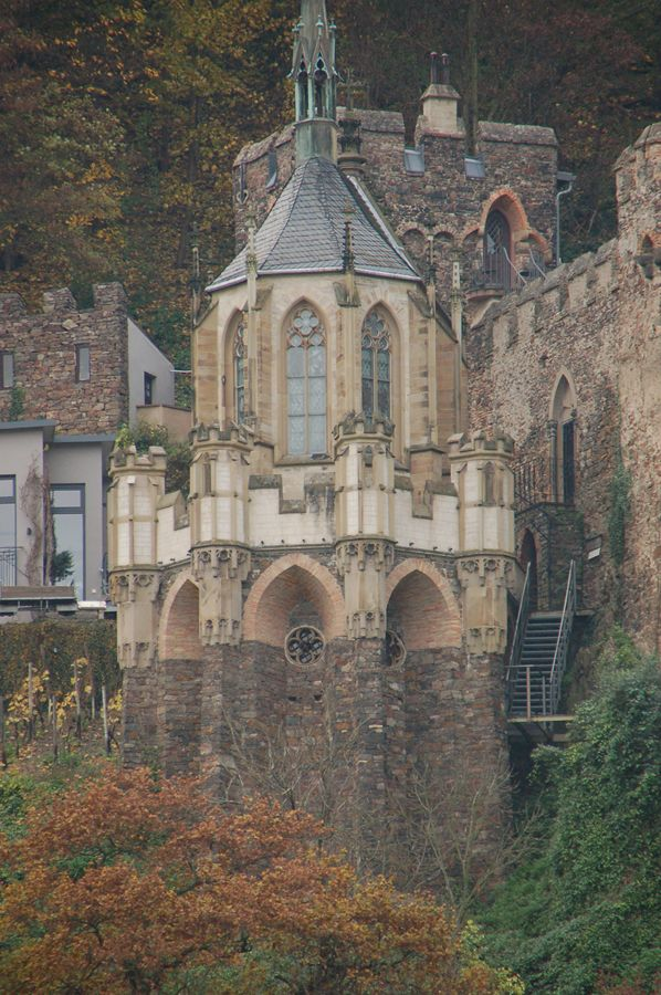 Rudesheim with one of its many castles