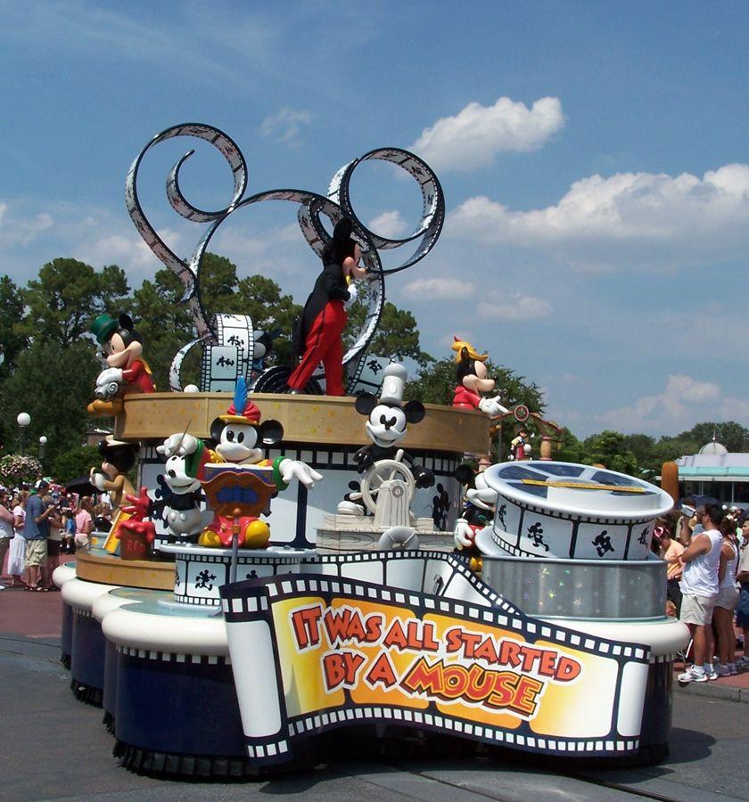 Disneyworld-Parade