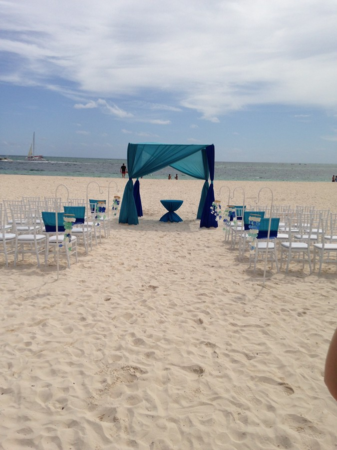 Paradisus Wedding on the Beach