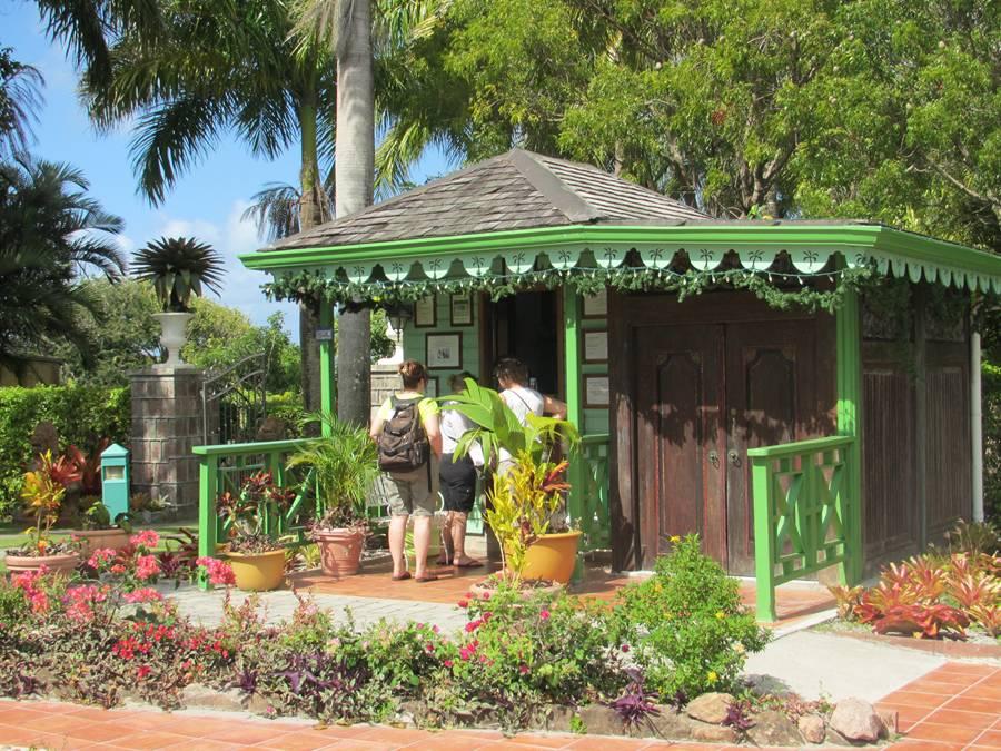 Beautiful Nevis Botanical gardens