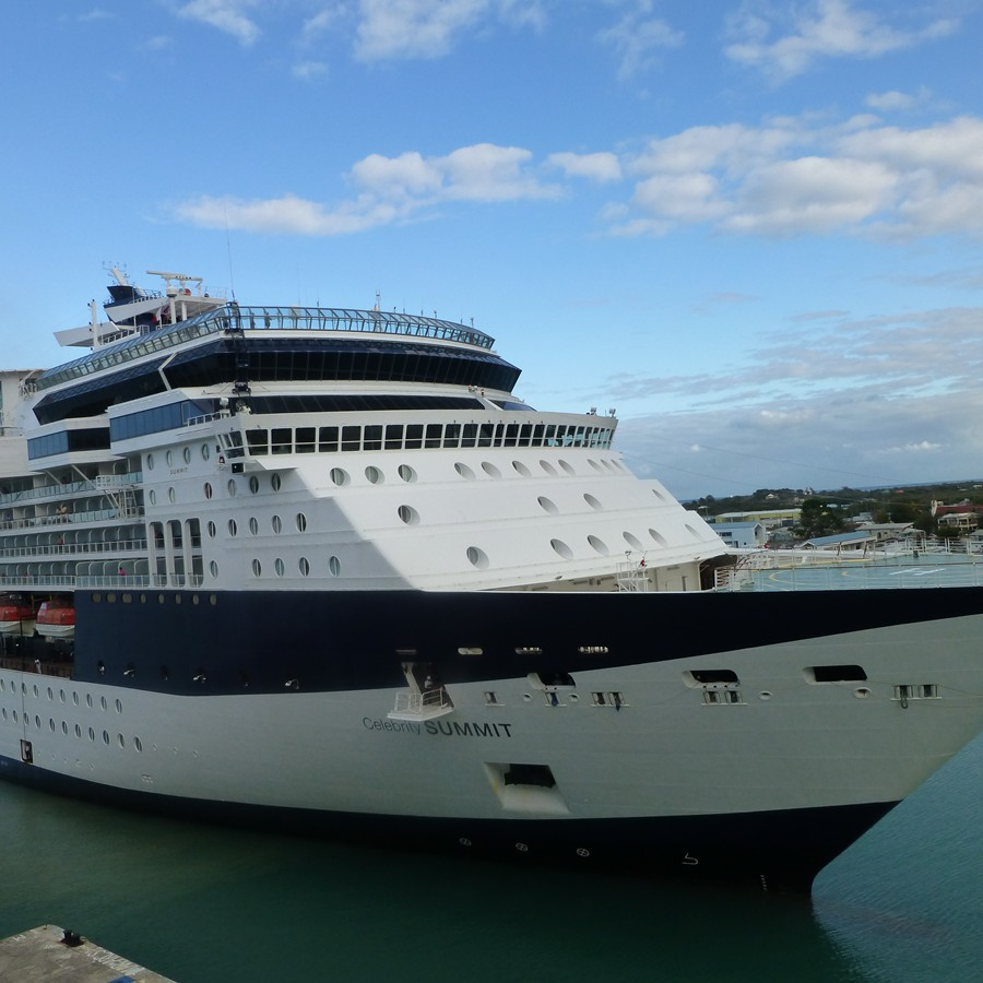 Celebrity Summit Cruise Ship in Antigua