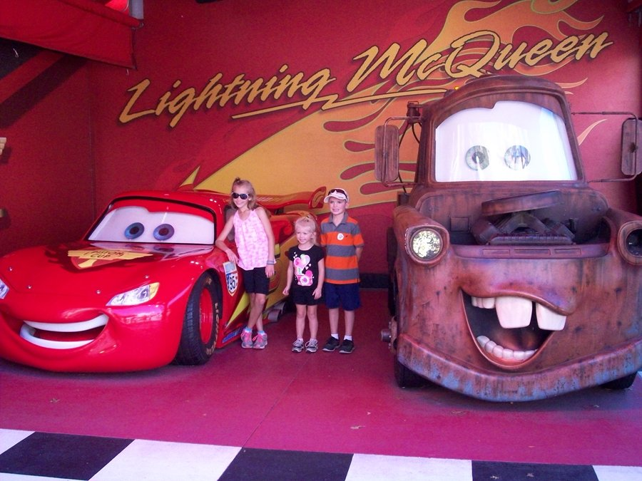 Lightening McQueen and Mator