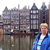 In Amsterdam, prior to my river cruise