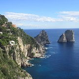 From atop the Isle of Capri