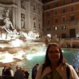 Trevi Fountain at night!