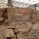 The ruins of ancient Ephesus in Turkey